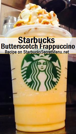 butterscotch frappuccino
