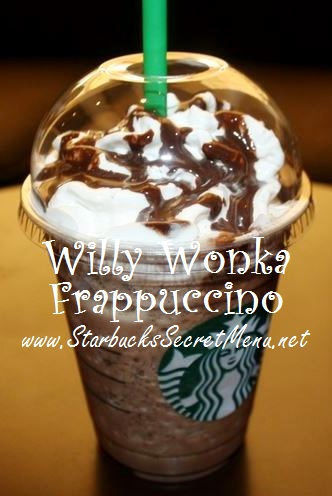 Starbucks Willy Wonka Frappuccino Starbucks Secret Menu