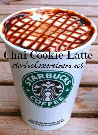 chai cookie latte