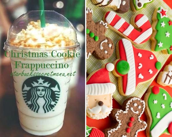 Starbucks Christmas Menu.Starbucks Christmas Cookie Frappuccino Starbucks Secret Menu
