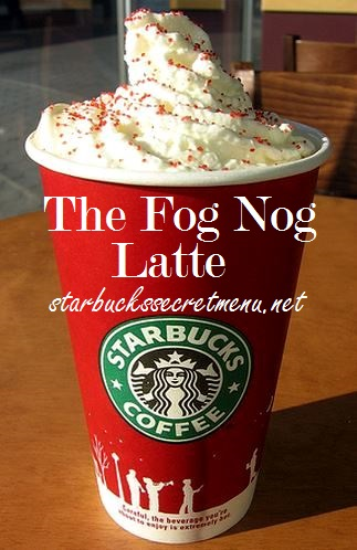 The Fog Nog Latte