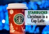 starbucks secret christmas in a cup latte