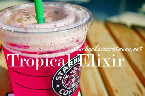 starbucks tropical elixir