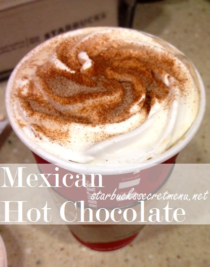 starbucks mexican hot chocolate