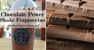 Chocolate Power Shake Frappuccino