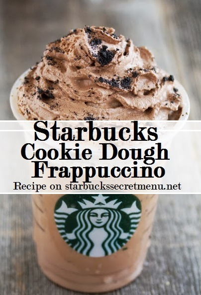 cook dough frappuccino
