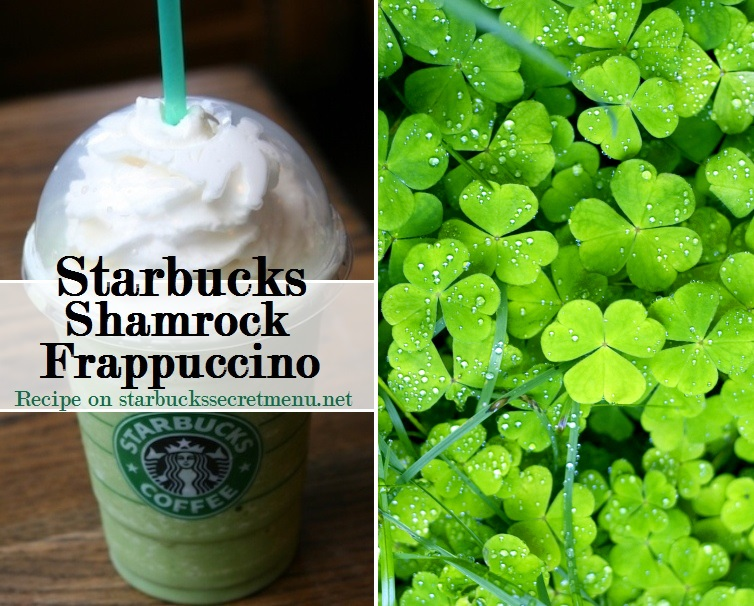 Fabuleux Starbucks Shamrock Frappuccino | Starbucks Secret Menu GW24