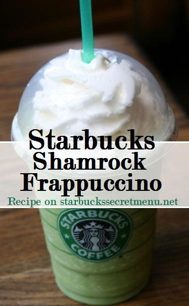 shamrock frappuccino