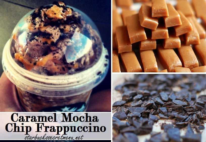 Starbucks Caramel Mocha Chip Frappuccino