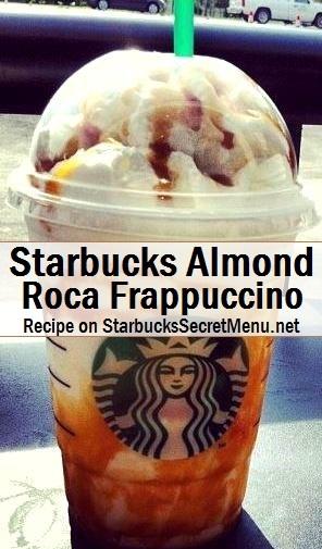 almond roca frappuccino