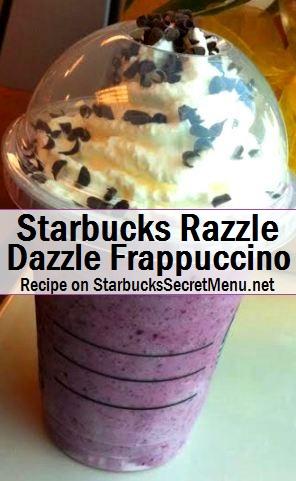 razzle dazzle frappuccino