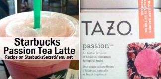 Passion Tea Latte