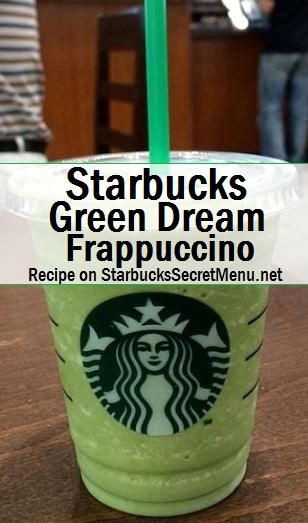 starbucks green dream frappuccino