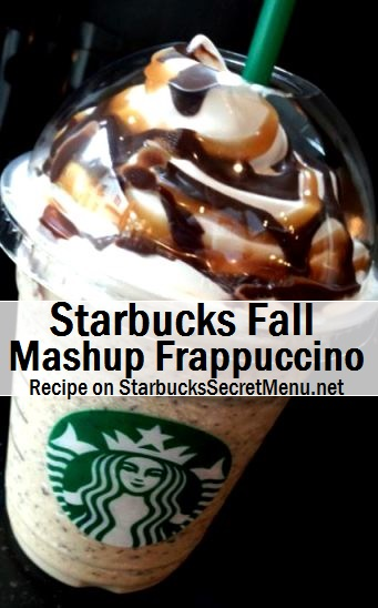 The Fall Mashup Frappuccino