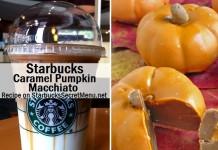 starbucks caramel pumpkin macchiato