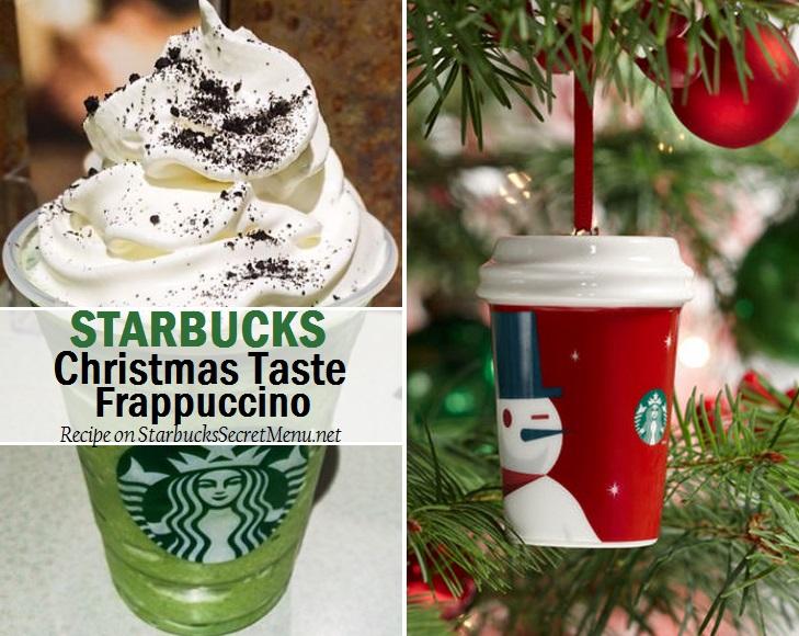Christmas Starbucks Drinks.Starbucks Christmas Taste Frappuccino Starbucks Secret Menu