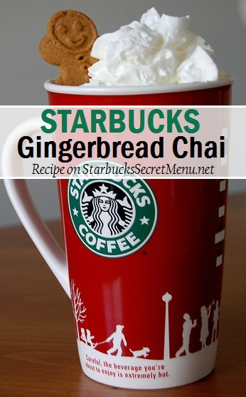starbucks gingerbread chai