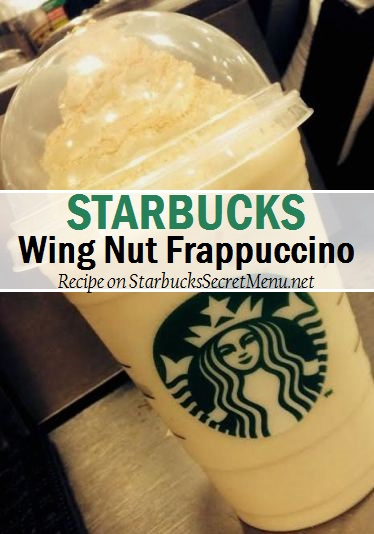 wing nut frappuccino