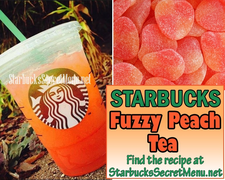 Fuzzy Peach Tea Starbucks Secret Menu Starbucks Secret