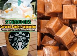 starbucks caramel candy frappuccino