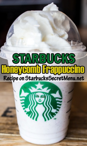 the honeycomb frappuccino