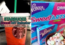 starbucks secret sweetart refresher
