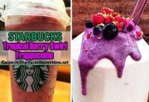 starbucks secret tropical berry swirl frappuccino