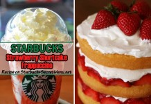 tarbucks strawberry shortcake frappuccino