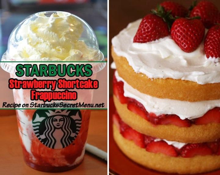 Starbucks Strawberry Shortcake Frappuccino