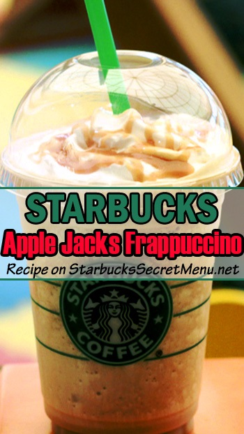 apple jacks frappuccino