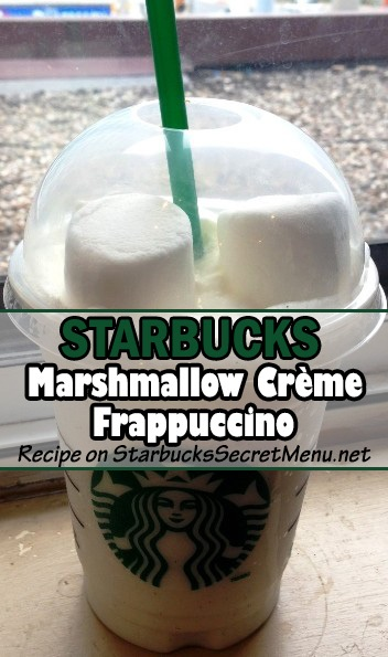marshmallow creme frappuccino