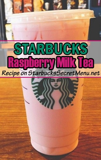 raspberry milk tea