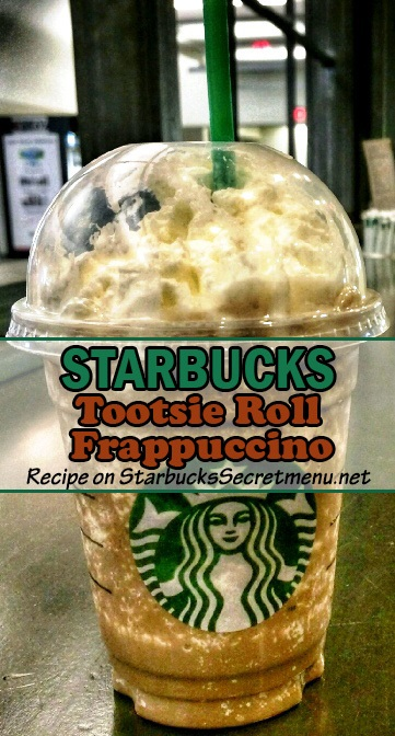Tootsie Roll Frappuccino