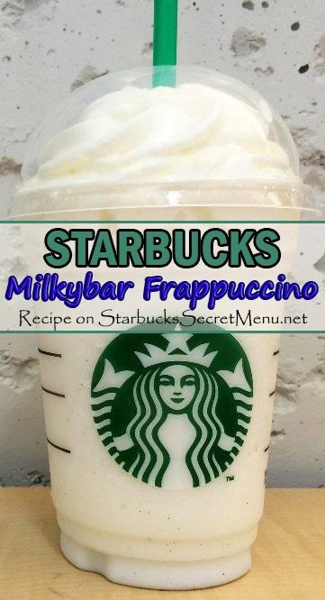 milkybar frappuccino