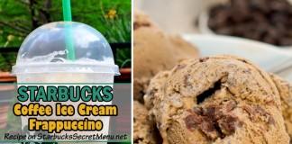 starbucks coffee ice cream frappuccino