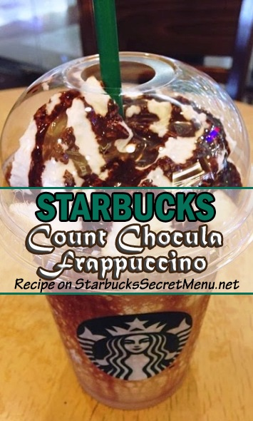 Count Chocula Frappuccino