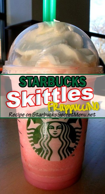 Skittles Frappuccino