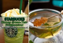 starbucks honey green tea frappuccino