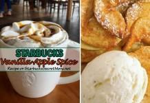 starbucks vanilla apple spice