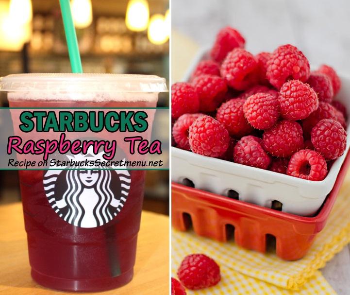 Starbucks Raspberry Iced Tea Starbucks Secret Menu
