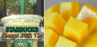 starbucks mango milk tea