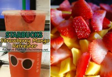 starbucks strawberry mango refresher