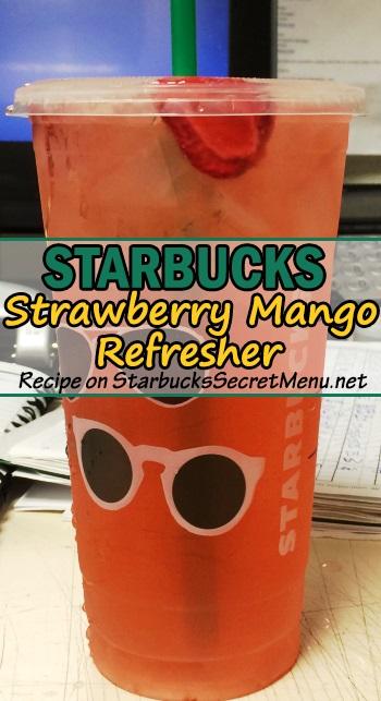 strawberry mango refresher