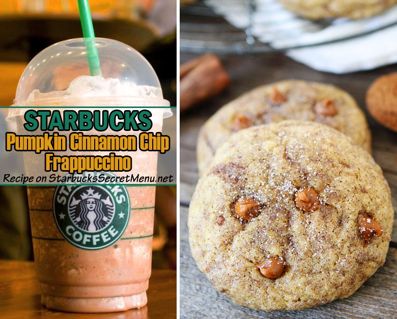 Pumpkin Cinnamon Chip Frappuccino Starbucks Secret Menu