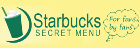 Starbucks Secret Menu
