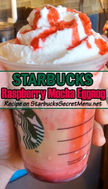 raspberry mocha eggnog