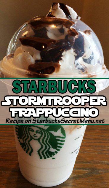 stormtrooper frappuccino