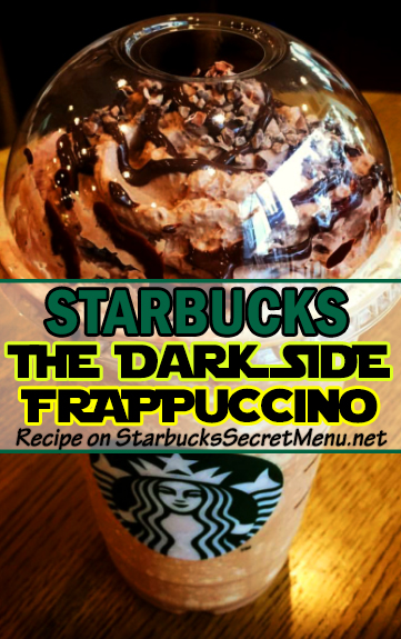 the dark side frappuccino