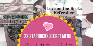 Starbucks Secret Menu Valentine's Day