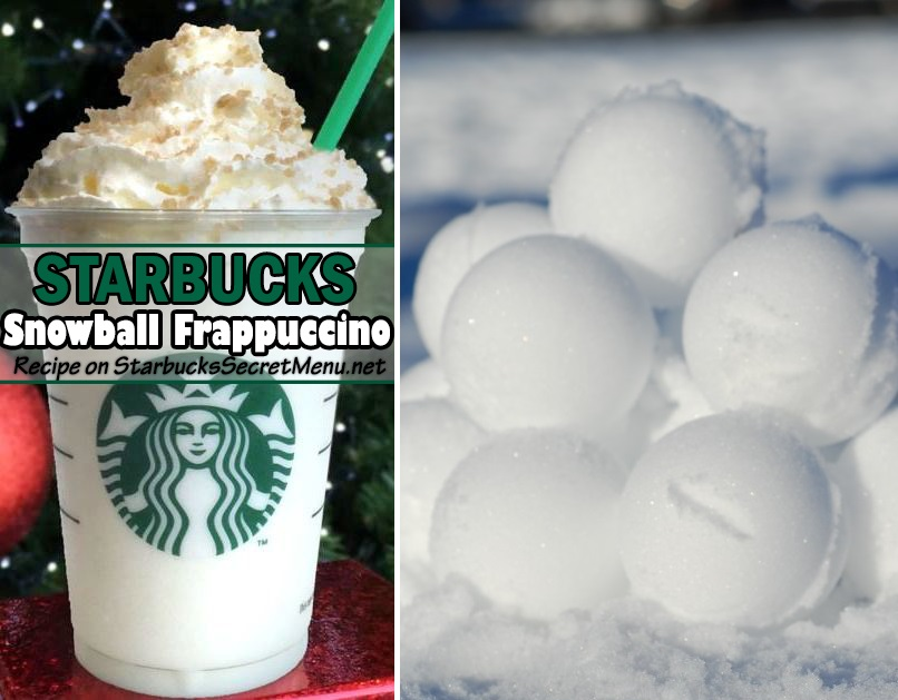Extrêmement Starbucks Snowball Frappuccino | Starbucks Secret Menu WJ02